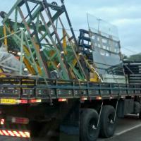 Vidro Jumbo - Transporte e Manuseio