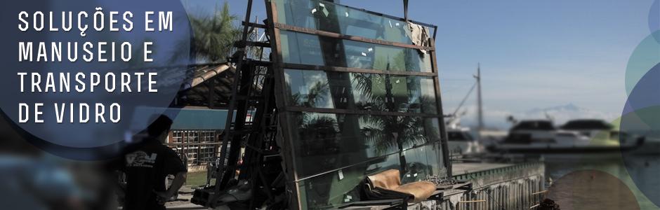 Soluções emmanuseio etransportede vidro